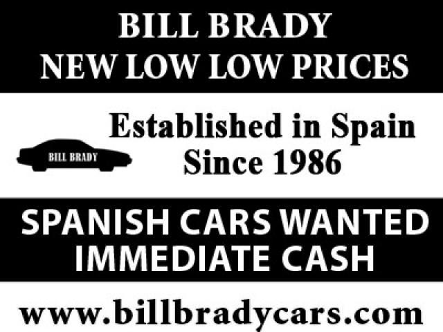 BILL BRADY NEW LOW PRICES